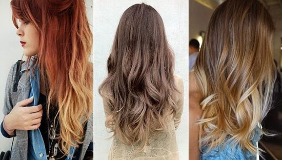 Trend 2013 Ombre Hair Style