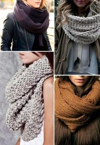 Trend Knit Scarves