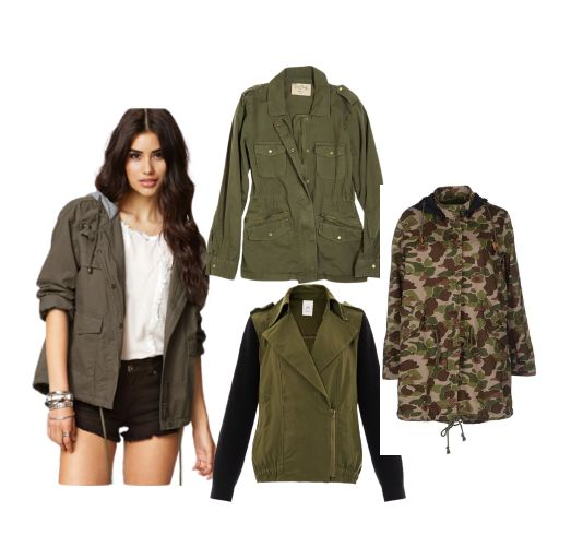 Trends Military Jacket