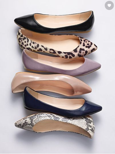 Victoria Secret Pointed toe flat collection