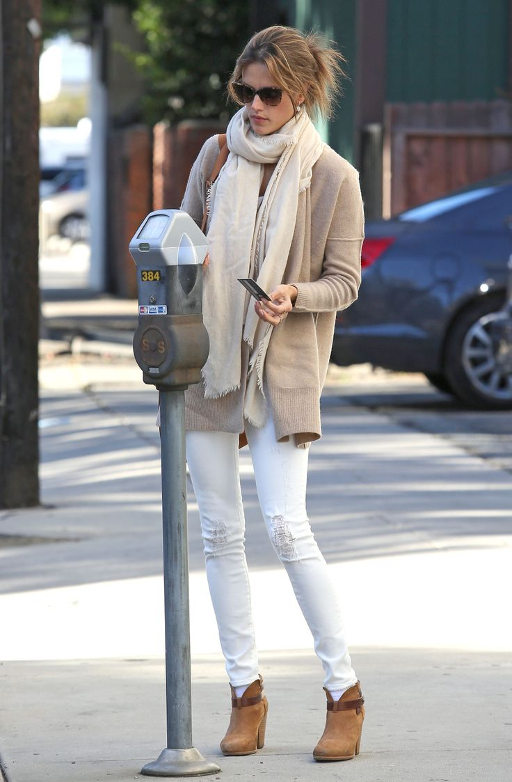 Alessandra Ambrosio Winter Outfit