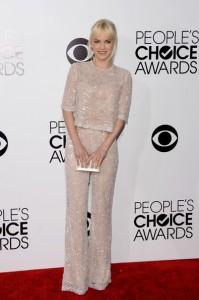 Anna Faris At People's Choice Awards 2014
