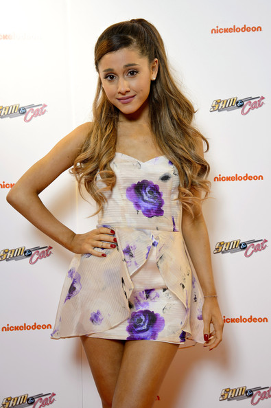 Ariana Grande Mini Printed Dress