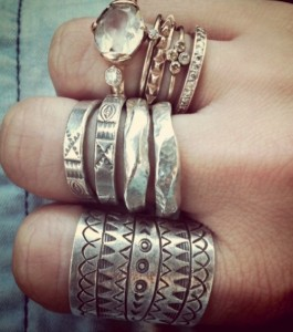Boho Stacked Rings