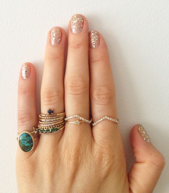 Cute Stacked Rings