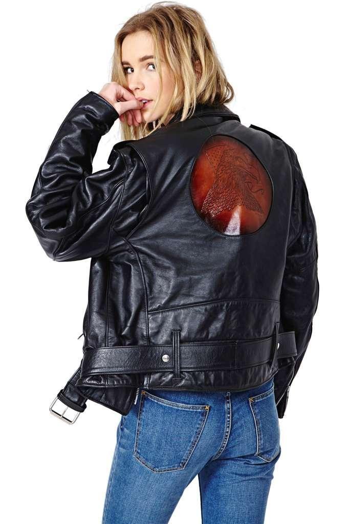 Eagle Eye Leather Jacket