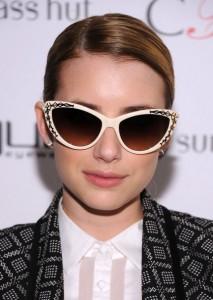 Emma Roberts Cateye Sunglasses