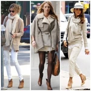Best Snapshot celebrities winter street style