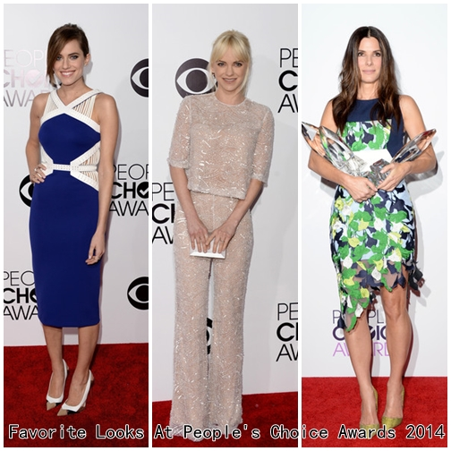 Favorite Looks At People's Choice Awards 2014