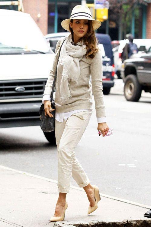 Jessica Alba Winter Street Style