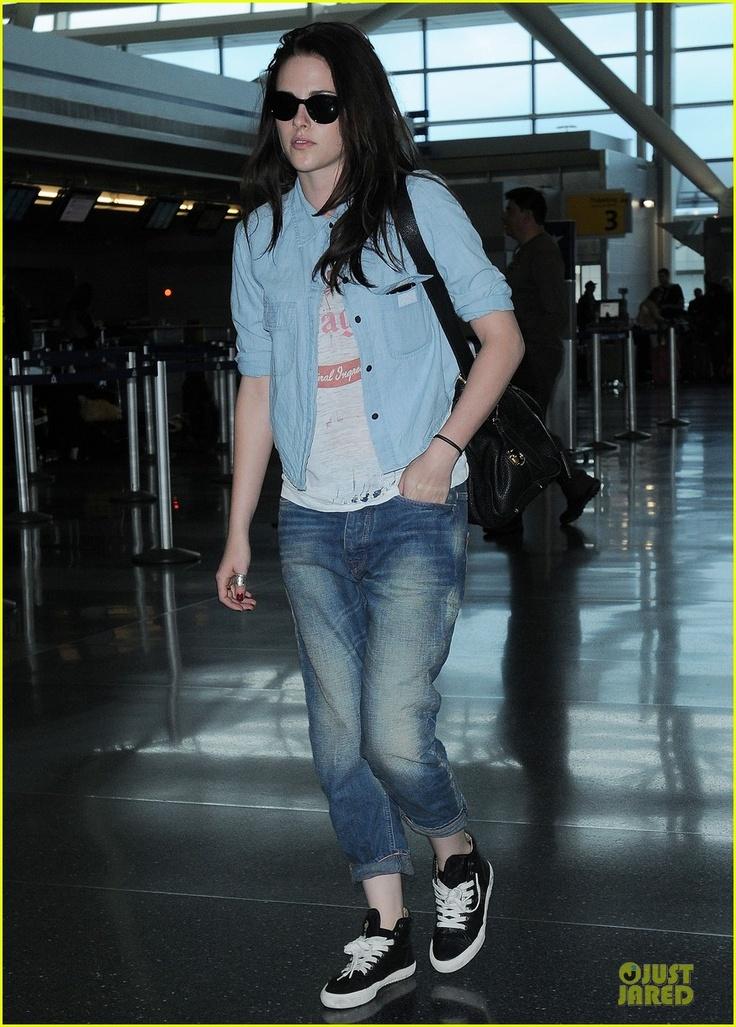Kristen Stewart Casual Style