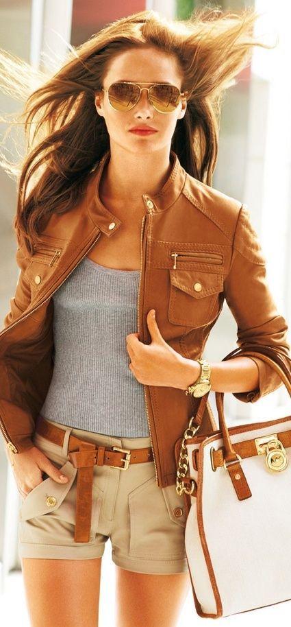 Leather Jacket And Wardrobe