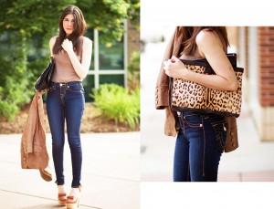 Leopard Handbag Fashion outfit