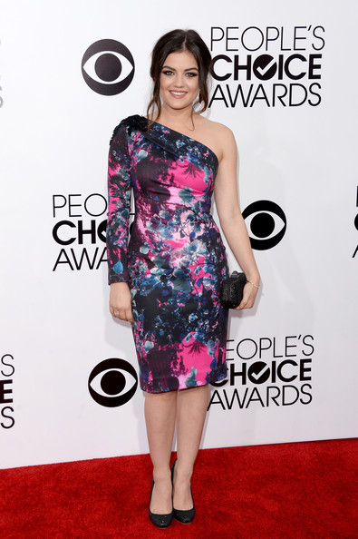 Lucy Hale At People's Choice Awards 2014