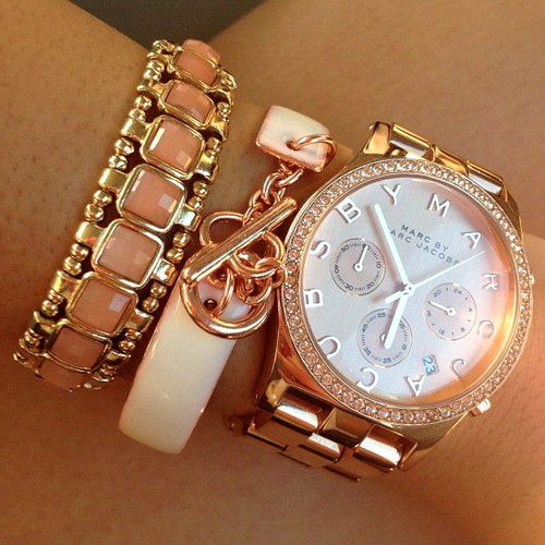 Marc Jacobs Watch And Bracelets