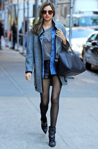 Miranda Kerr Winter Street Style