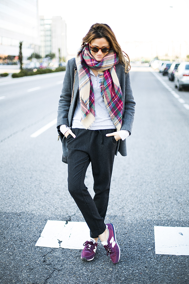 New Balance With Outfit