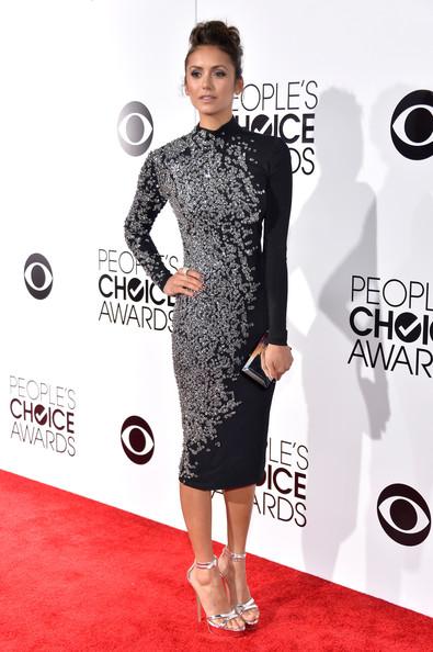 Nina Dobrev At People's Choice Awards 2014