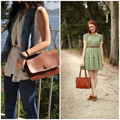 Outfit With Vintage Bag