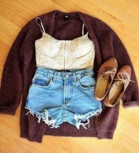 Ripped Jeans Outfit For Fall Fashion