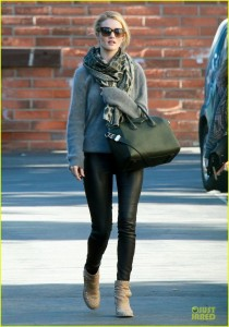 Rosie Huntington-Whiteley Winter Street Style