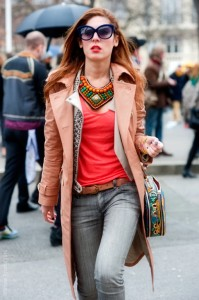 Statement Necklace with outfit