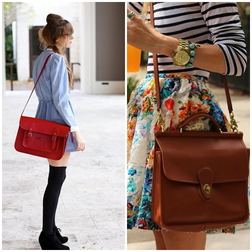 Style With Vintage Bag