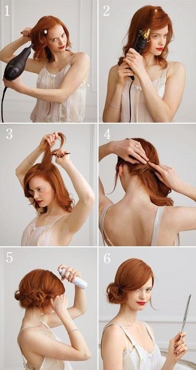 Summer Hair Updo