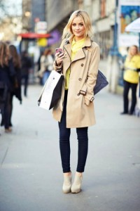 Winter Coat Dress Outfit