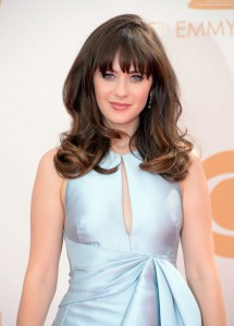 Zooey Deschanel Long wavy bang