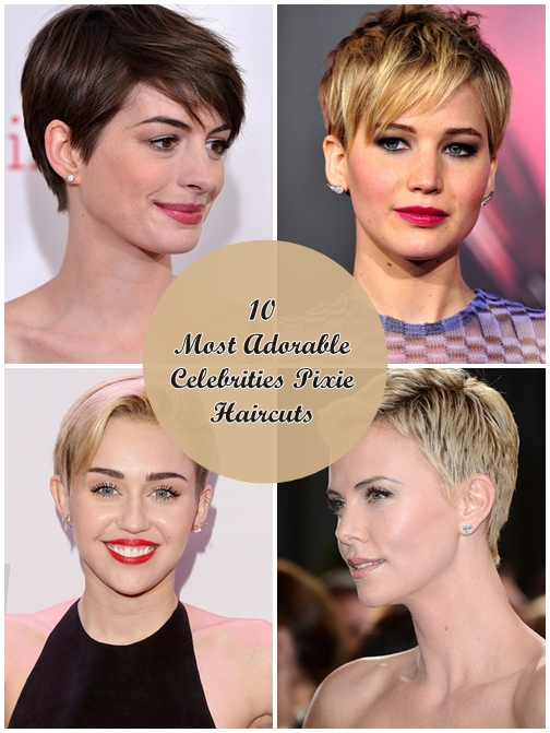 10 Most Adorable Celebrities Pixie Haircuts