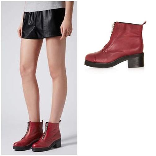 ARTURO Zip Front Boots