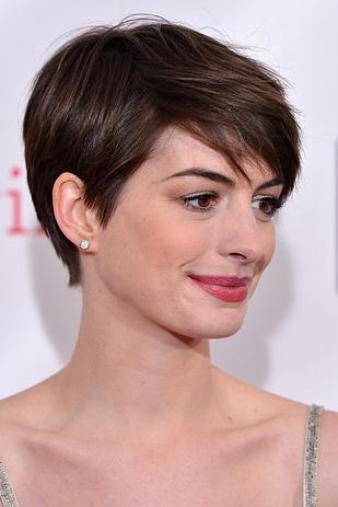 Anne Hathaway Pixie Hair Cut