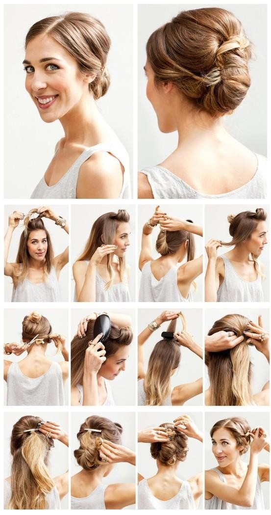 Another Easy Bun Hairstyle