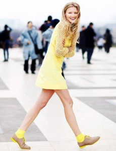 Cute yellow outfit