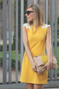 Lovely yellow dress