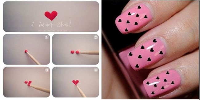 Nail Art Design For Valentine