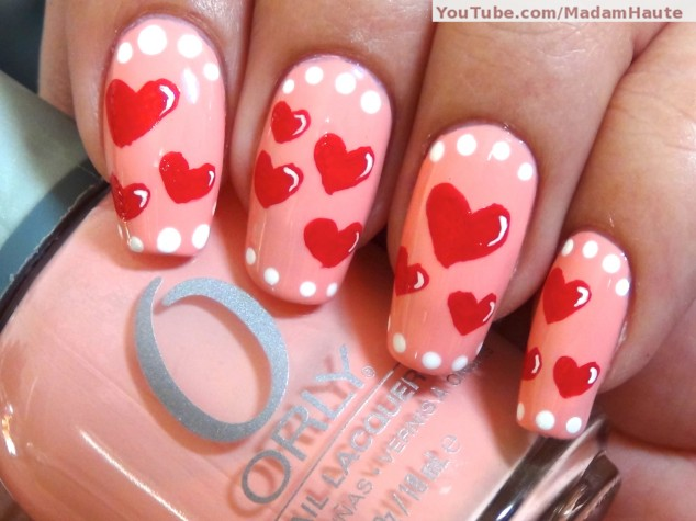 Nail Art For Valentine