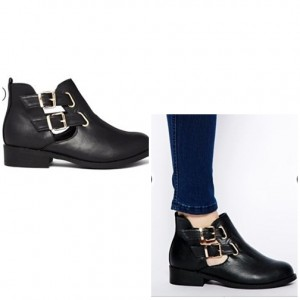 River Island Jennie Cut Out Ankle Boots
