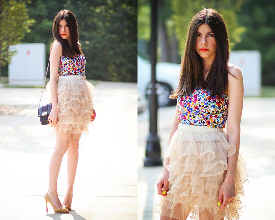 Trend Outfit With Tutu Skirt