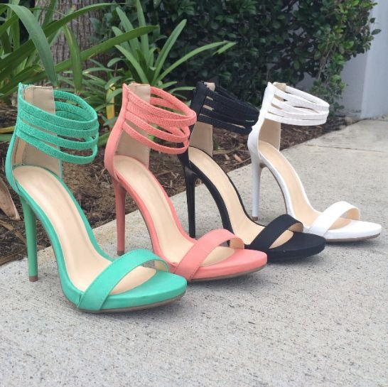 Under 50k Strappy Heels By Gojane