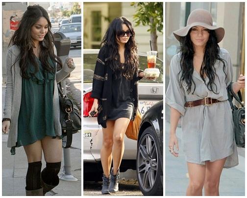 Vanessa Hudgens Dress Street Style