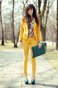 Yellow Outfit Mix Match