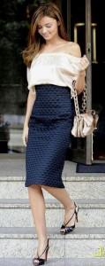Miranda Kerr style perfection.