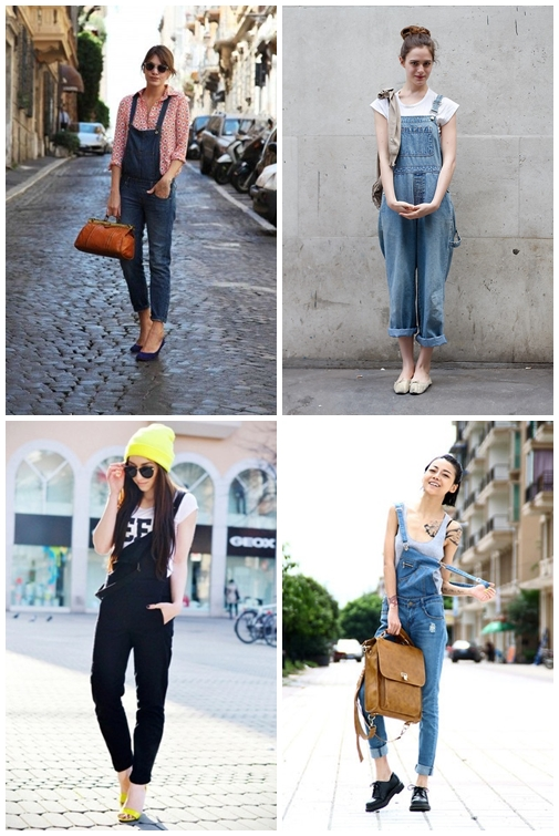 Overall Jeans Outfits