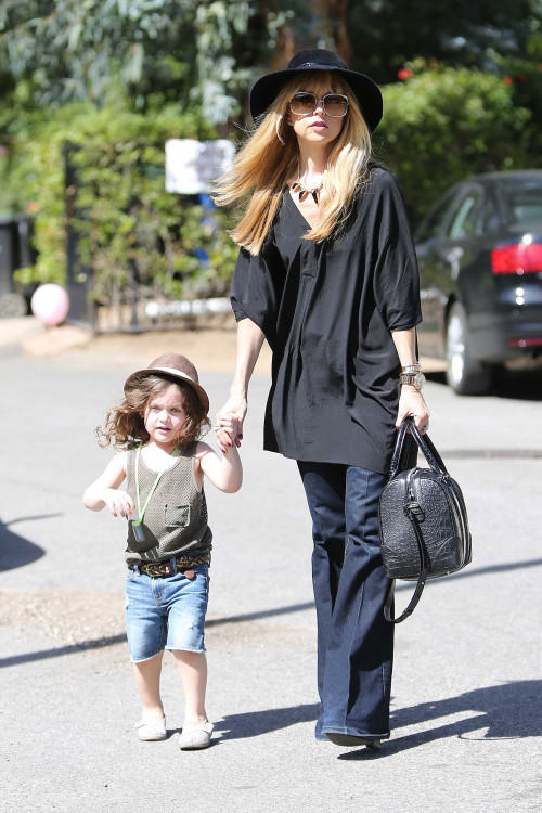 Rachel Zoe and Rodger Berman get quality time with Skyler