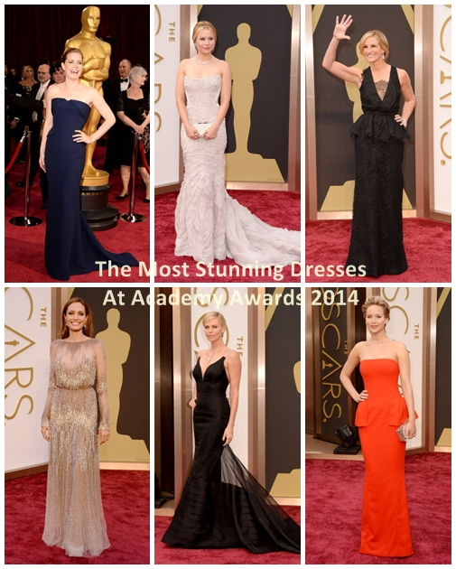 The Most Stunning Dresses At Academy Awards 2014