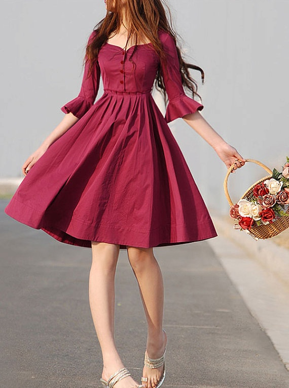 Vintage Dress Outfit