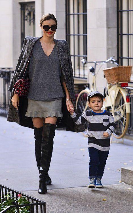 perfect fashionable Mom