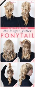the double ponytail trick